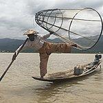 Fisherman of Inle Lake | Photo taken by Cynthia C