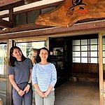 Noriko and Satoe in the Oku Japan office | Photo taken by Joost S