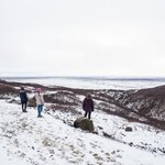 Hike back from Svartifoss | Photo taken by Grace L