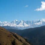 View of the Himalayas   Photo taken by Patrick J