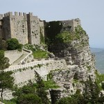 Castle at Erice, a mountain top medieval town. | Photo taken by Toni S