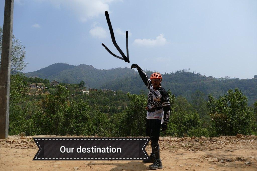 Pokhara biking | Photo taken by marlon c