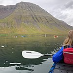 Kayaking in Isafjordur | Photo taken by Laura D