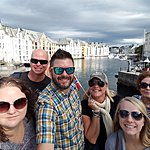 Seeing the sights of Alesund | Photo taken by Mark M