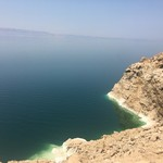 The dead sea, high level of salt. | Photo taken by Rahaf A