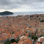The new tiled roofs of Dubrovnik | Photo taken by Eva W