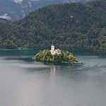 Lake Bled, the most picturesque lake  | Photo taken by Sally B