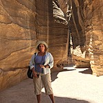 Day 2: In Petra's canyon | Photo taken by Mia F