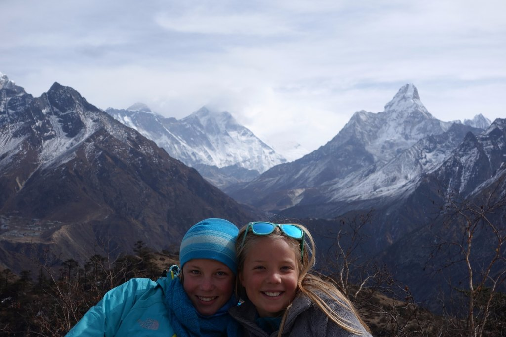 Marina and Haven with Everest | Photo taken by Dorine H