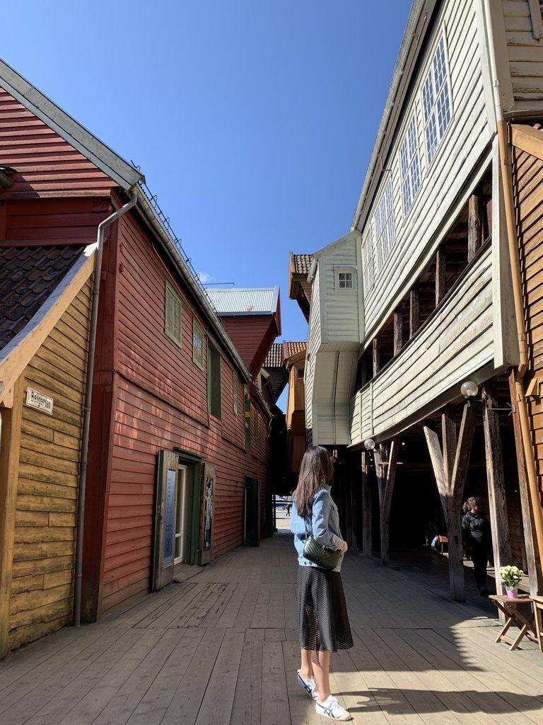Bryggen  | Photo taken by Jessica H