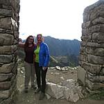 Kristin and Caro at the Sun Gate | Photo taken by Kristin M