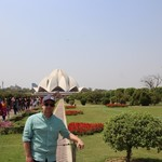 Lotus Temple, Delhi | Photo taken by Ivan T