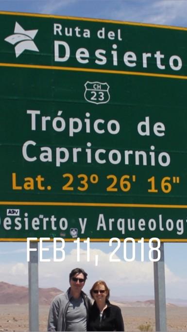 Tropic of Capricorn  | Photo taken by Sheila S