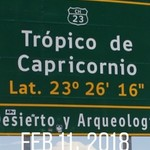 Tropic of Capricorn  | Photo taken by Sheila S