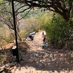 Dambulla ascent | Photo taken by Karyn R