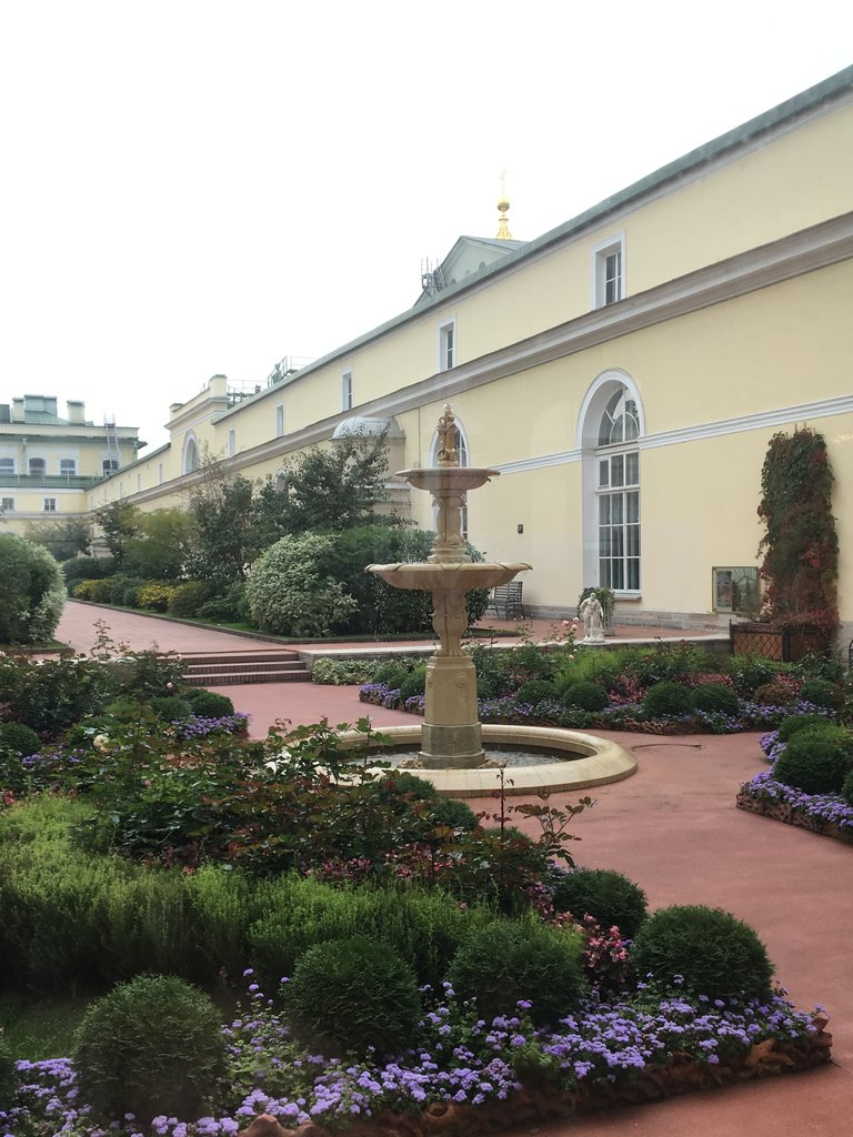 Another roof garden, Hermitage   Photo taken by Diane P