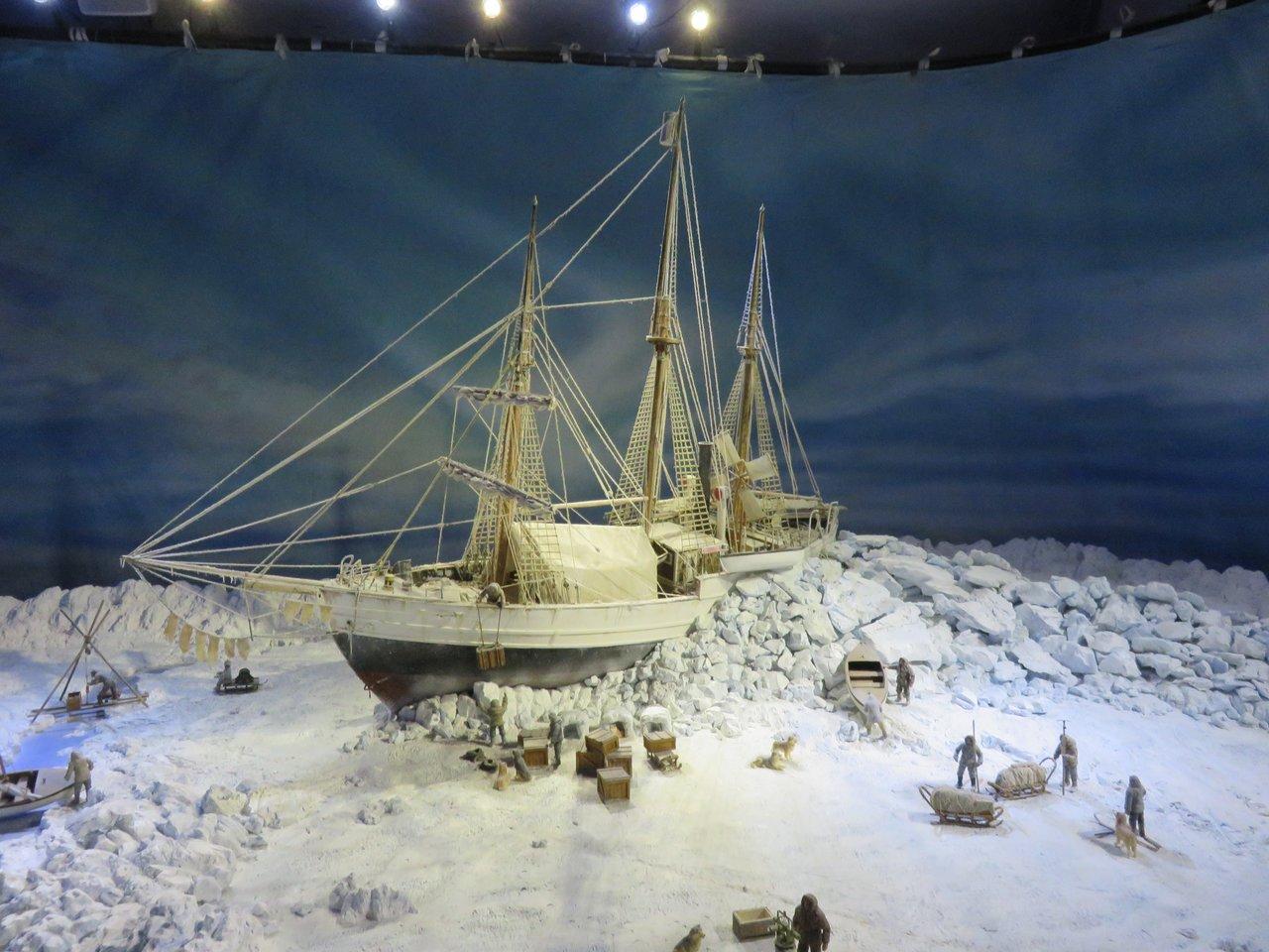 Fram diorama | Photo taken by Mary K