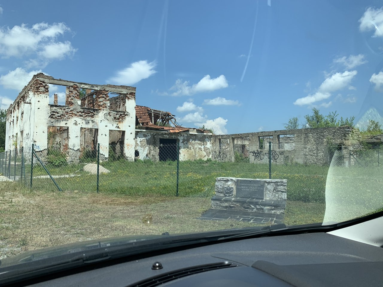 Some of the war torn areas we drove through. | Photo taken by Stephen G