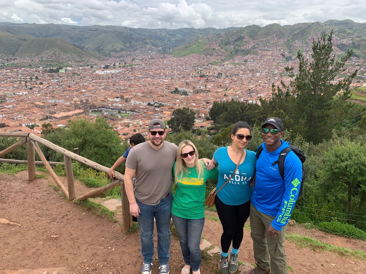 Overlooking Cusco city | Photo taken by Jessica M