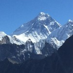 Everest from Gokyo | Photo taken by christine N