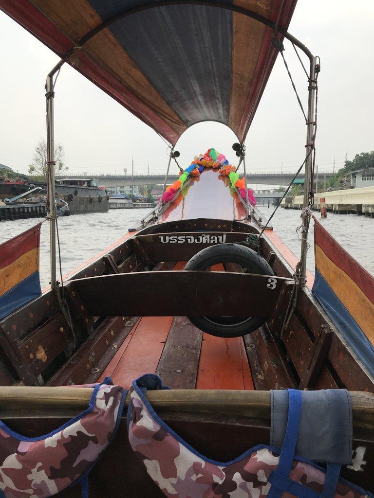 Long boat trip along the canal | Photo taken by Deborah B