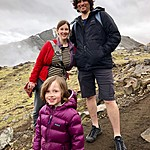 Lissa, Brian and Silas - Landmannalaugar | Photo taken by Elizabeth R