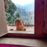a sweet child in Namkheli | Photo taken by Dorine Harris