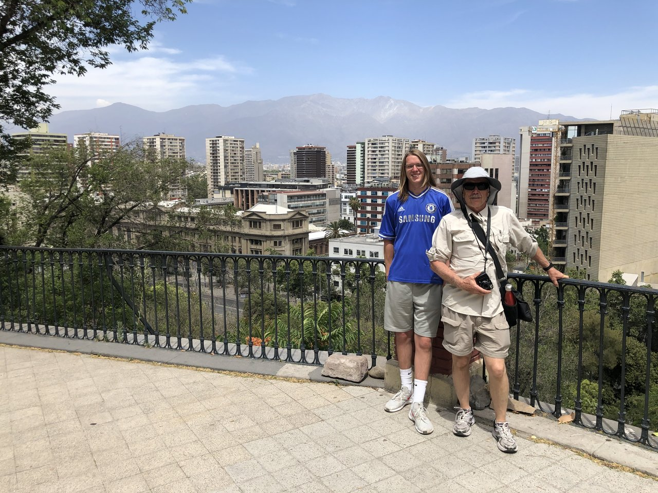 Santa Lucia Hill in Santiago | Photo taken by Melody B