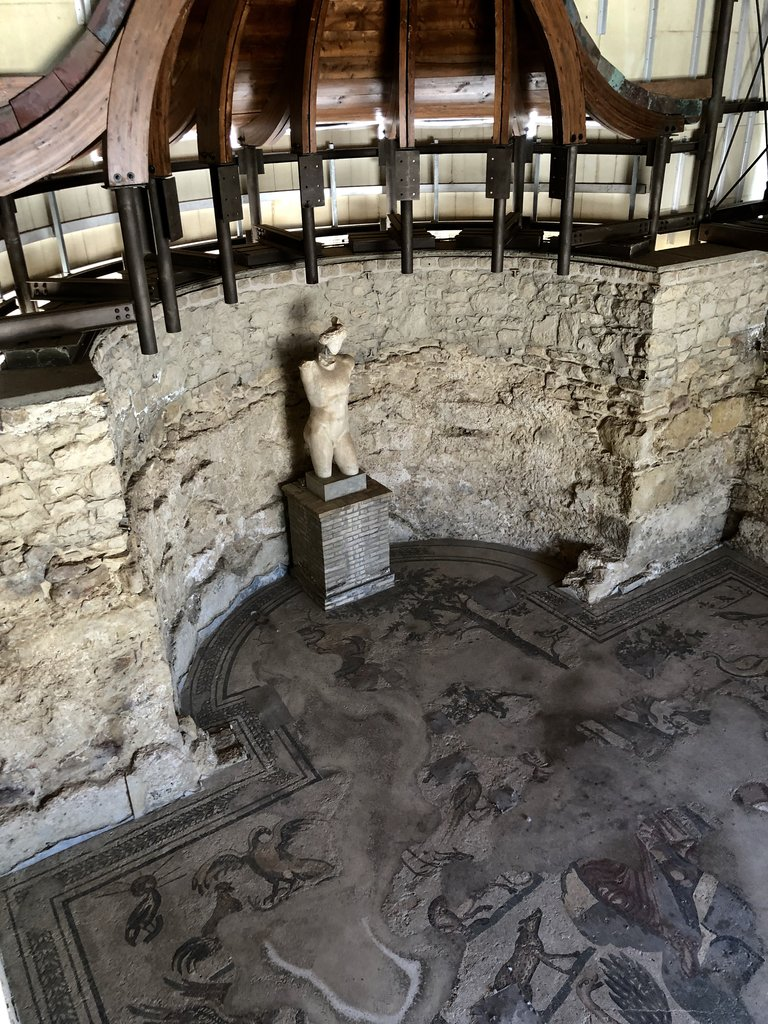 Some of the best preserved Roman mosaics. Built in the 4th crntury | Photo taken by ingrid B