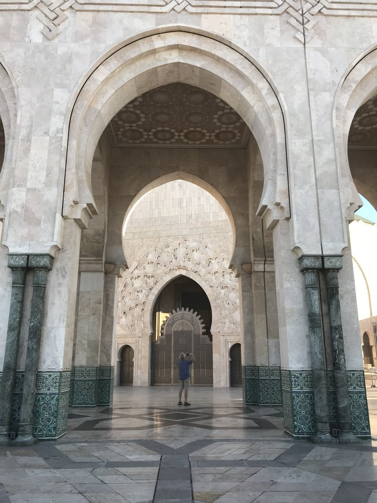 Hassan II Mosque | Photo taken by Chris M