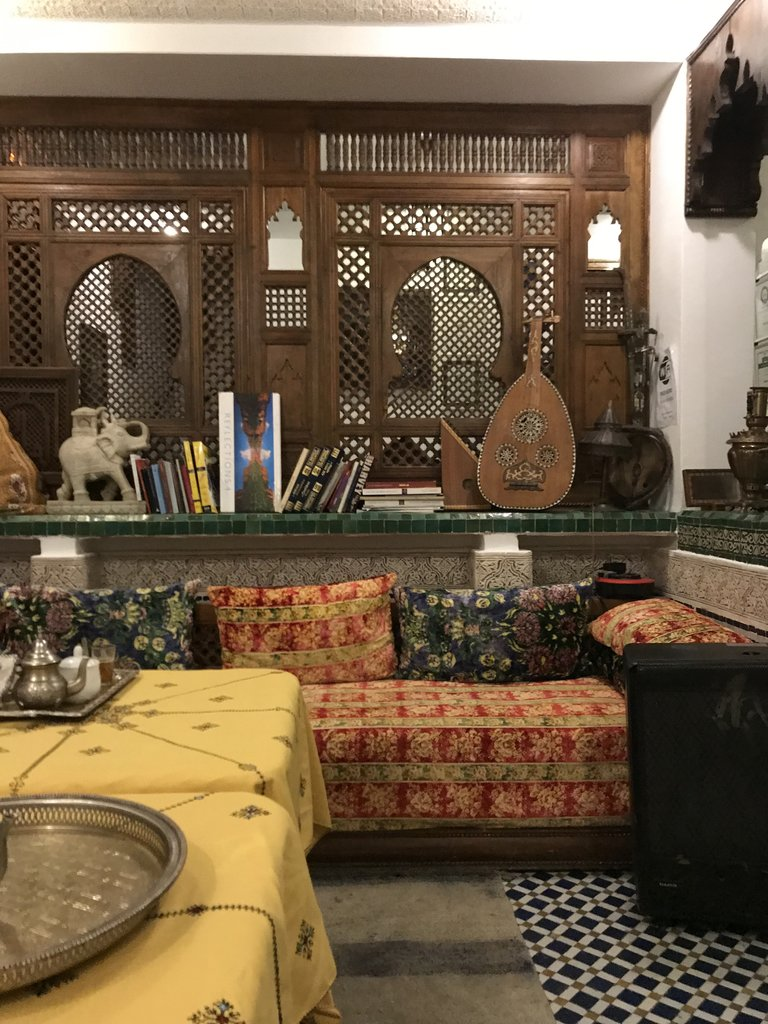 Riad Dar, Fes Medina | Photo taken by Chris M
