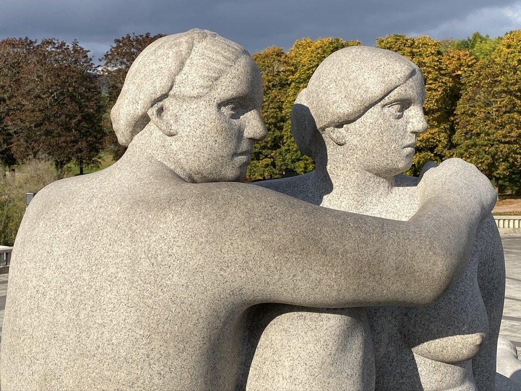 Sculpture Garden | Photo taken by Robin W