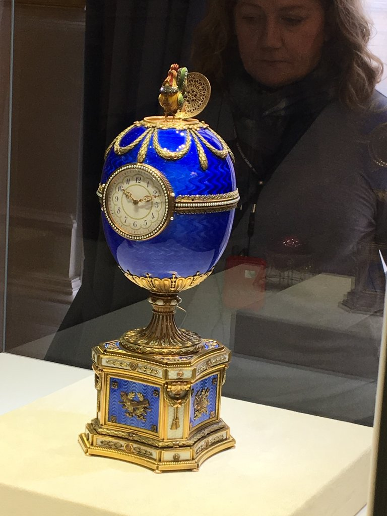 Faberge egg  | Photo taken by Diane P