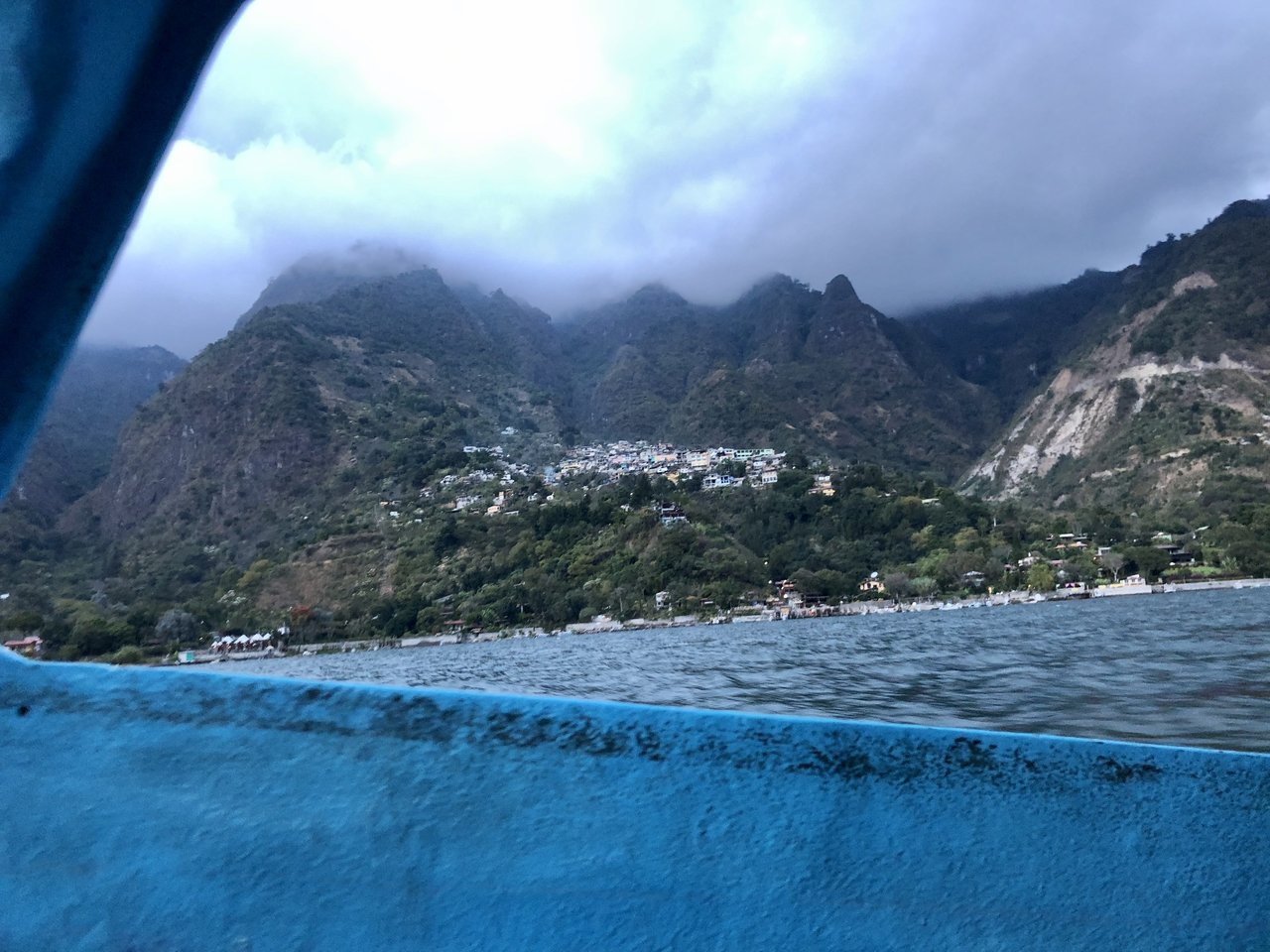 On a boat to Casas del Mundo  | Photo taken by BRAD K