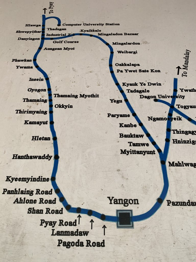 Circular train route | Photo taken by Bonnie S