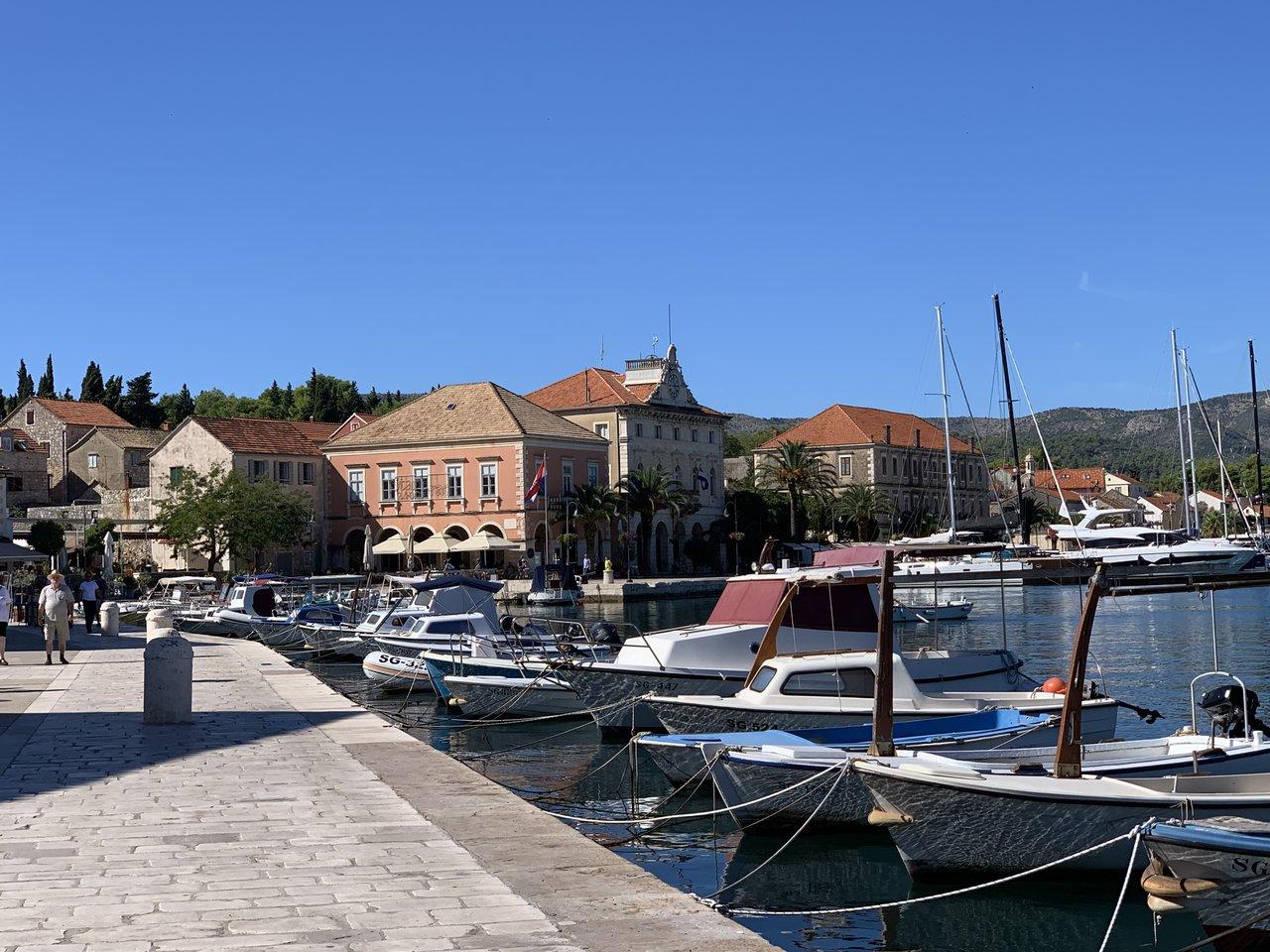 Stari Grad (north side of Hvar) | Photo taken by Eva W