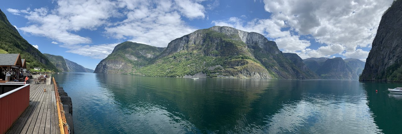 Pano in Undredal | Photo taken by Michael W