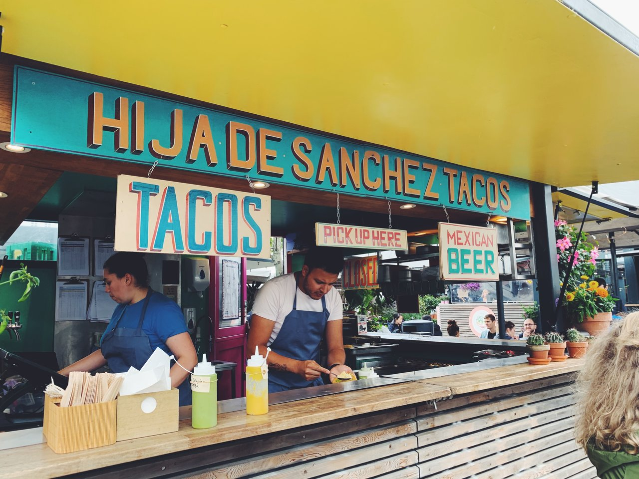 Did somebody say tacos? Hija de Sanchez | Photo taken by Michael W