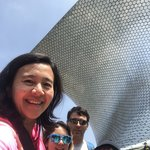 Visiting Museo Soumaya | Photo taken by Elisa M
