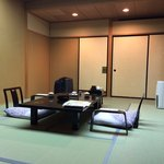 Ryokan room, Kinugawa-Onsen | Photo taken by Sam D