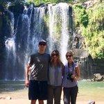 Llanos de Cortez Waterfall | Photo taken by Rachel H