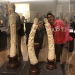 The ivory art collection at Museo Soumaya | Photo taken by Elisa M