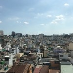 View from hotel in Ho Chi Minh City | Photo taken by Anthony A