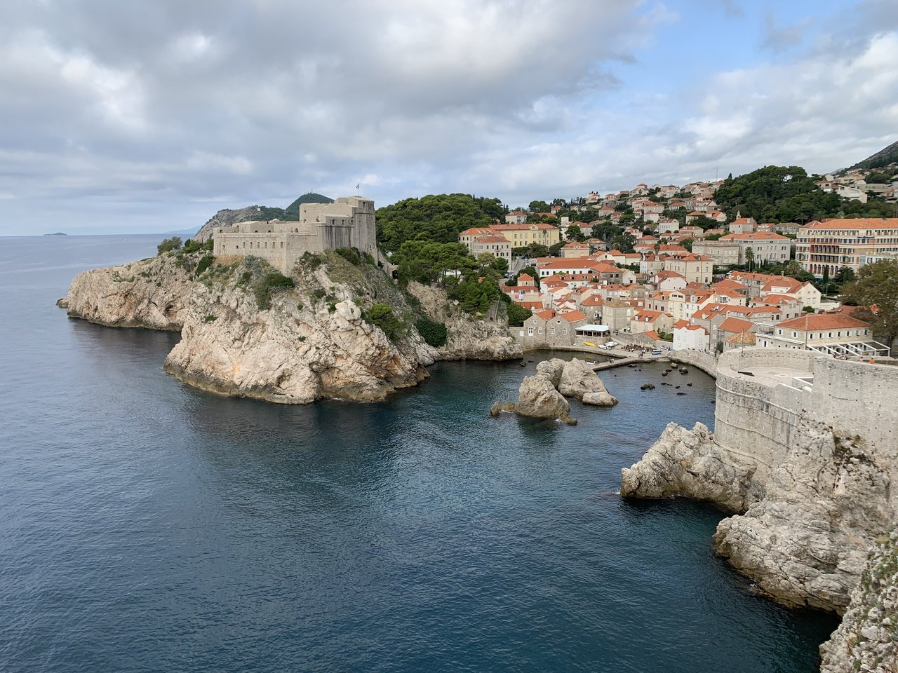 Dubrovnik (fortress and wall) | Photo taken by Eva W