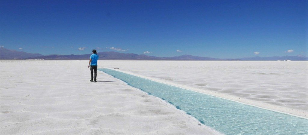 The salt flats: a remote landscape like no other