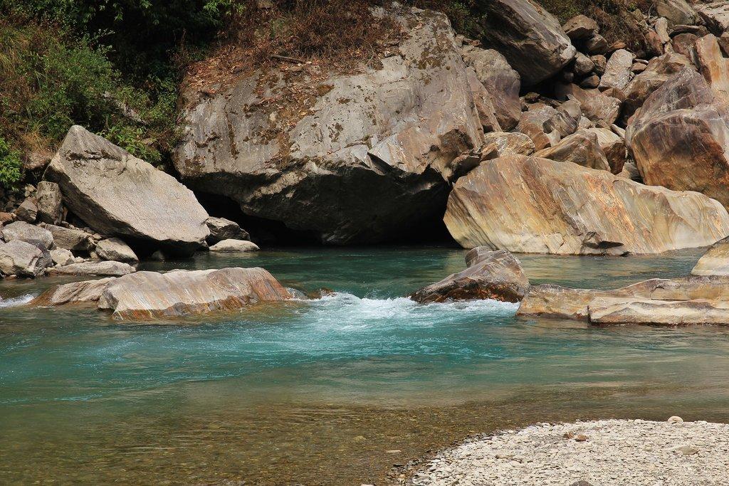 The Langtang Khola River