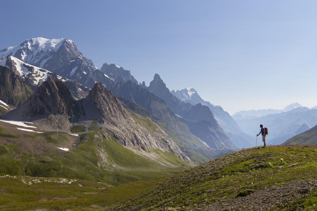 Col de la Seigne and Mont-Blanc summit