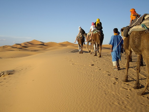 Boumalne Dades to Tinerhir (Todra Gorge) to Sahara (at Merzouga)