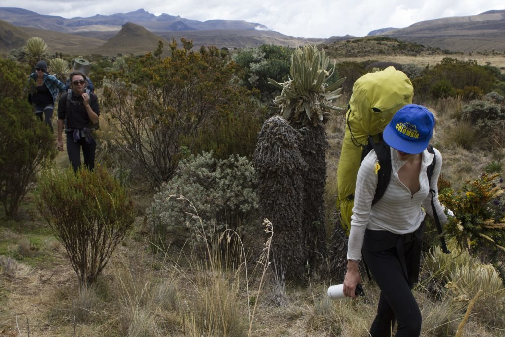 Finishing the high-altitude trek