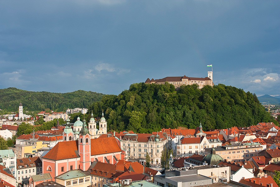 Stroll through the historic streets of Ljubljana